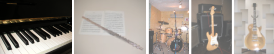 音楽教室 ピアノ フルート ボイトレ ギター カラオケ